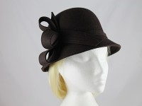 Failsworth Millinery Bow Wool Hat